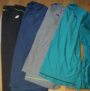 4 dry-fit shirt bundle